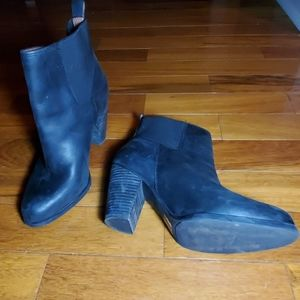 Lucky Brand Shoes - Lucky Brand Leather Ankle Boots Sz 9.5